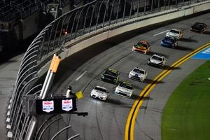 The Toyota Pace car leads the field during caution