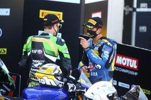 Philipp Oettl, Kawasaki Puccetti Racing, Andrea Locatelli, BARDAHL Evan Bros WorldSSP Team