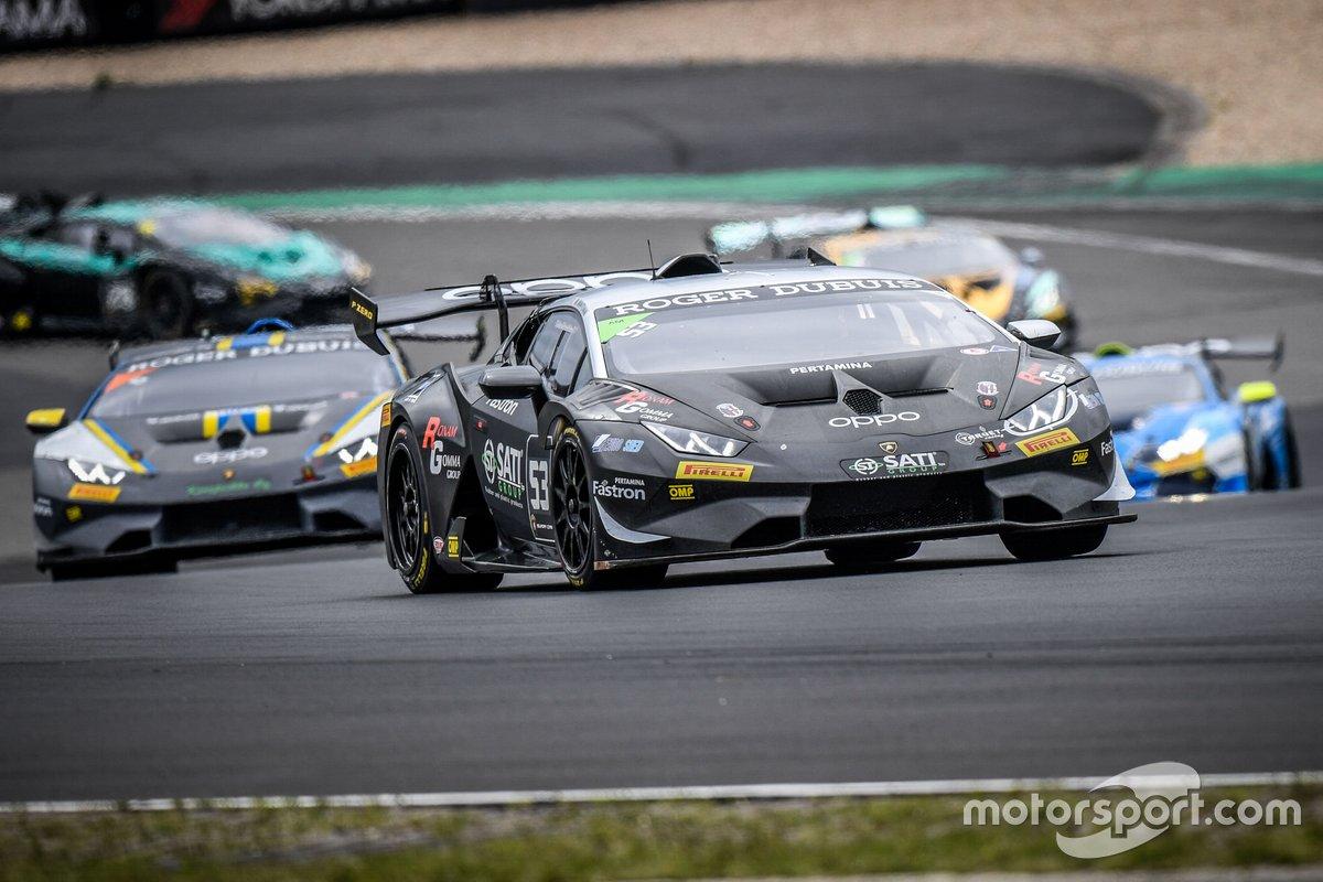 Massimo Mantovani, Target Racing, Lamborghini Huracan Super Trofeo