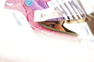 Lance Stroll, Racing Point, in cockpit