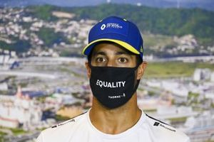Daniel Ricciardo, Renault F1 in the press conference