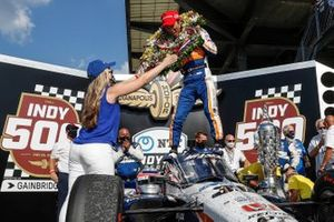 Winnaar Takuma Sato, Rahal Letterman Lanigan Racing Honda