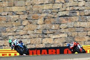 Eugene Laverty, BMW Motorrad WorldSBK Team, Marco Melandri, Barni Racing Tea