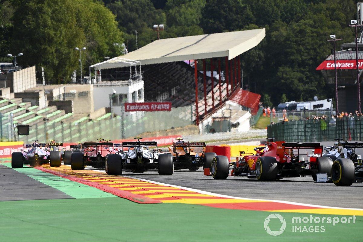 Charles Leclerc, Ferrari SF1000, Pierre Gasly, AlphaTauri AT01, Sebastian Vettel, Ferrari SF1000