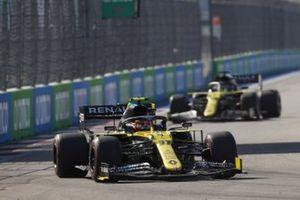 Esteban Ocon, Renault F1 Team R.S.20 Daniel Ricciardo, Renault F1 Team R.S.20