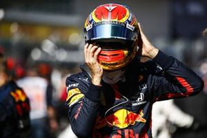 Alex Albon, Red Bull Racing, on the grid