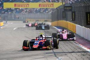 Marino Sato, Trident and Artem Markelov, BWT HWA Racelab