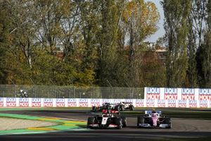 Romain Grosjean, Haas VF-20, Lance Stroll, Racing Point RP20