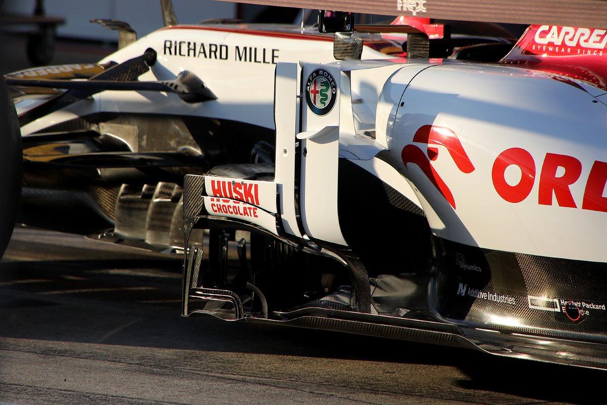 Alfa Romeo C39: Luftleitbleche