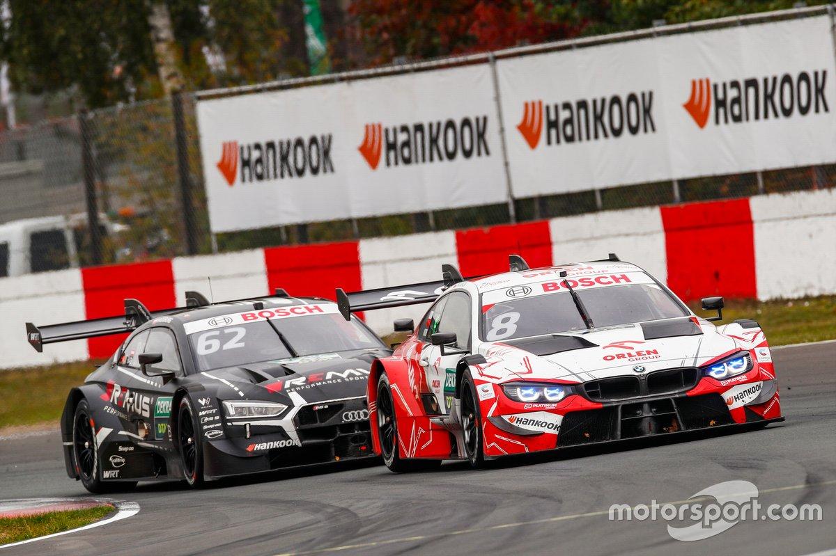 Robert Kubica, Orlen Team ART, BMW M4 DTM, Ferdinand Habsburg, Audi Sport Team WRT, Audi RS 5 DTM