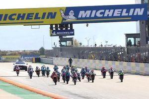 Moto3 race start