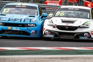 Santiago Urrutia, Cyan Performance Lynk & Co 03 TCR, Mikel Azcona, Zeng? Motorsport Services KFT CUPRA León Competición TCR