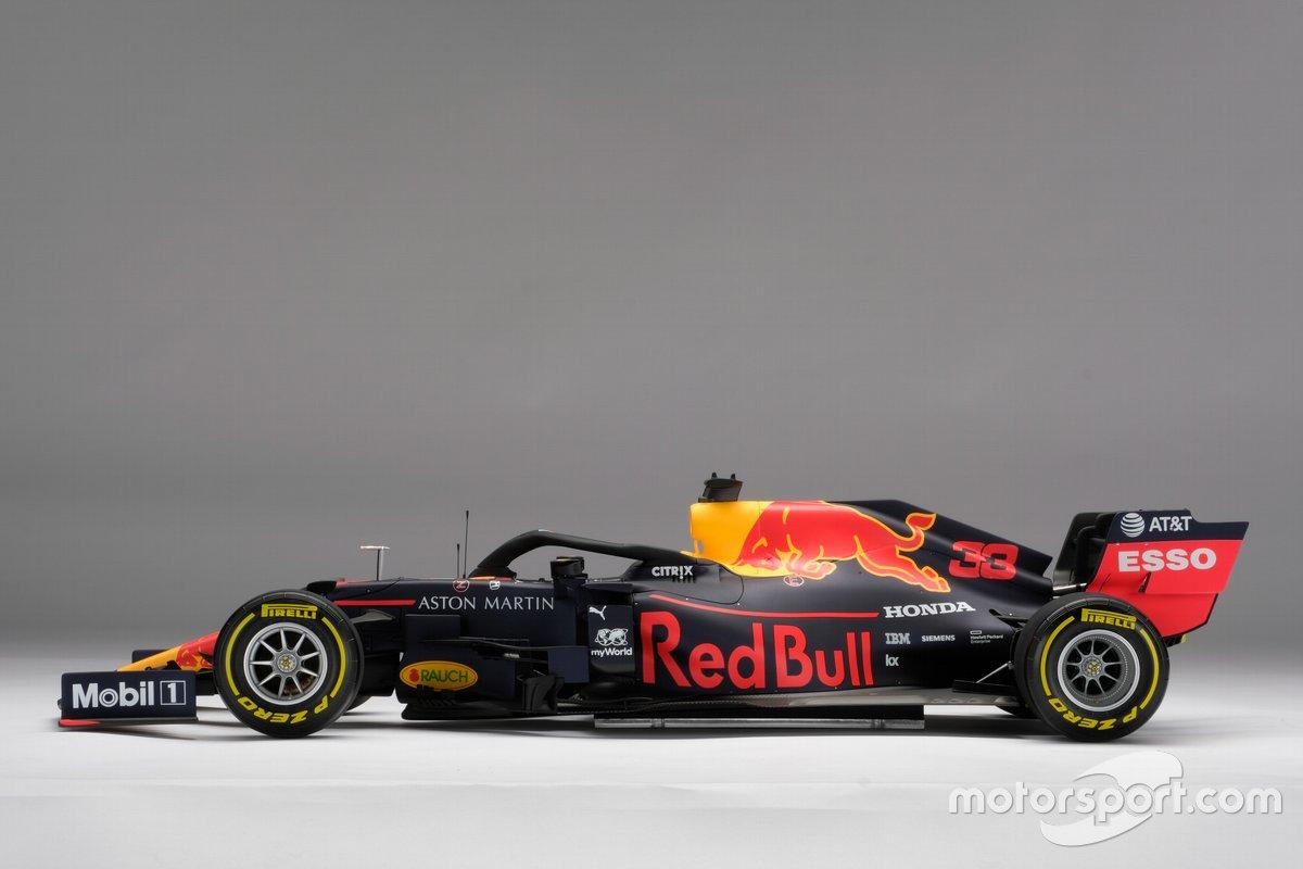 Aston Martin Red Bull Racing RB15 van Amalgam, schaal 1:8
