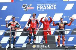 Alex Marquez, Repsol Honda Team Danilo Petrucci, Ducati Team Pol Espargaro, Red Bull KTM Factory Racing