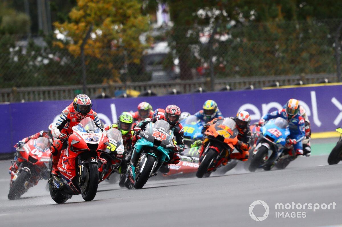 Jack Miller, Pramac Racing, Valentino Rossi, Yamaha Factory Racing se cae detrás