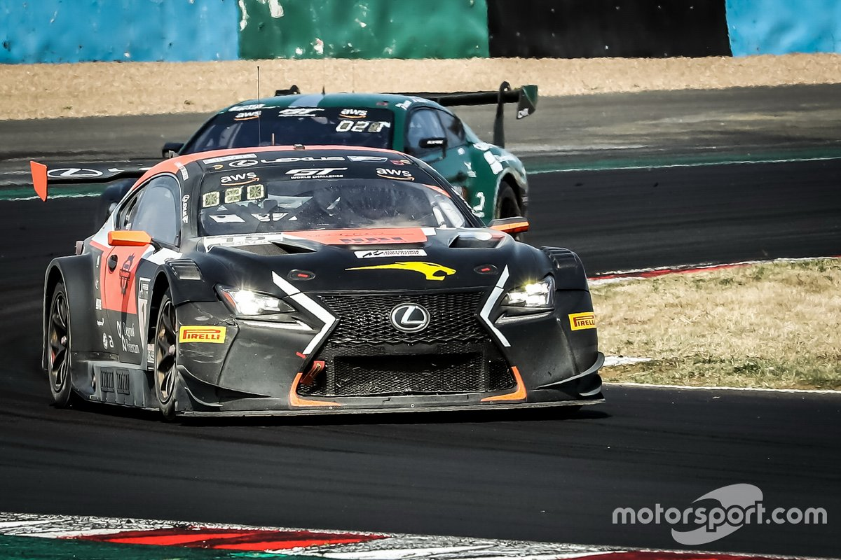 #15 Tech 1 Racing Lexus RC F GT3: Thomas Neubauer, Aurélien Panis