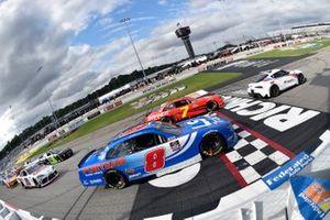 Justin Allgaier, JR Motorsports, Chevrolet Camaro BRANDT and Jeb Burton, JR Motorsports, Chevrolet Camaro LS Tractor