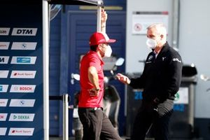 Mike Rockenfeller, Audi Sport Team Phoenix, Jens Marquardt, BMW Motorsport Director