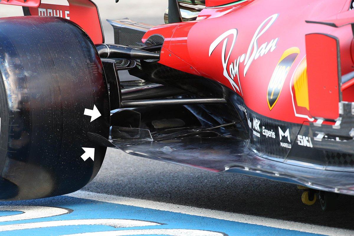 Ferrari SF1000: Unterboden