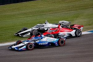 Takuma Sato, Rahal Letterman Lanigan Racing Honda, Marcus Ericsson, Chip Ganassi Racing Honda, Simon Pagenaud, Team Penske Chevrolet