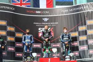 Kyle Smith, GMT94 Yamaha, Lucas Mahias, Kawasaki Puccetti Racing, Hannes Soomer, Kallio Racing