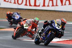 Loris Baz, Ten Kate Racing Yamaha, Chaz Davies, ARUBA.IT Racing Ducati