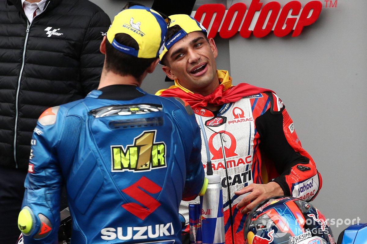 Joan Mir, Team Suzuki MotoGP, Jorge Martin, Pramac Racing