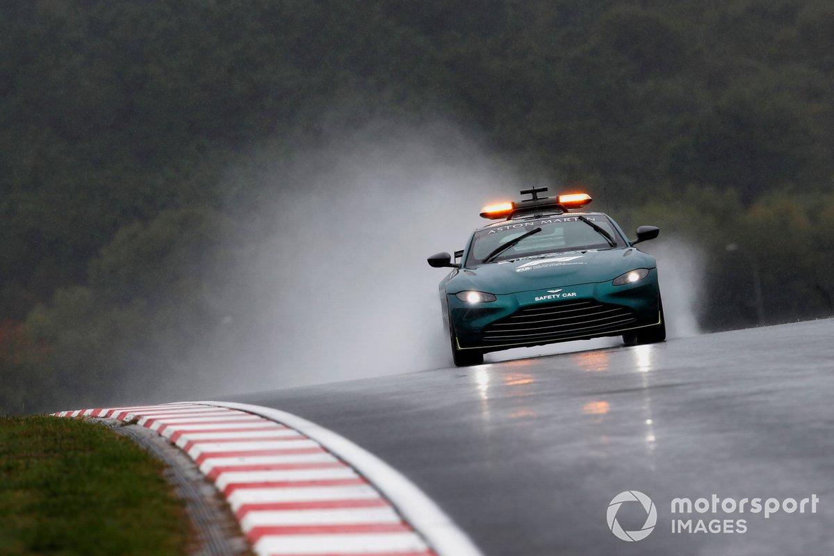 El Safety Car de Aston Martin