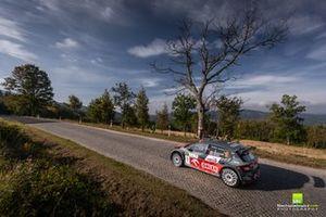 Kacper Wróblewski, Jakub Wróbel Skoda Fabia Rally2 evo