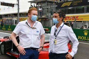 FIA-leden op de grid