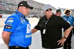 Rudy Fugle and Rick Hendrick