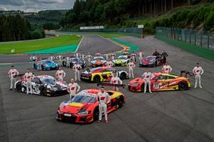 Toutes les équipes et pilotes clientes d'Audi Sport