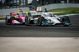 Graham Rahal, Rahal Letterman Lanigan Racing Honda, Alexander Rossi, Andretti Autosport Honda