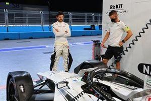 Norman Nato, Venturi Racing, in the garage