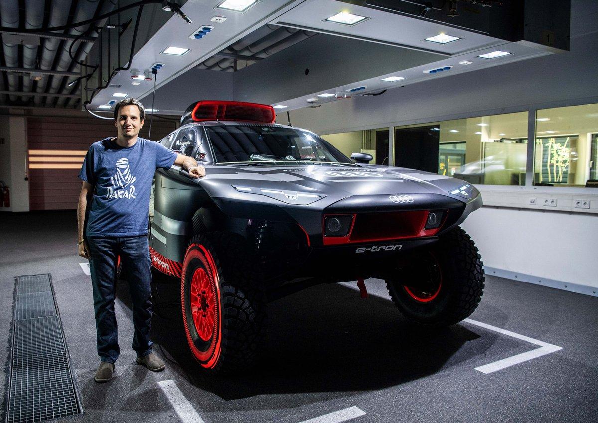 Présentation de l'Audi RS Q e-tron
