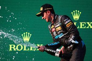 Race winner Matteo Nannini, HWA Racelab