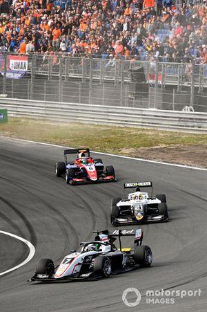 Frederik Vesti, ART Grand Prix, Lorenzo Colombo, Campos Racing and David Schumacher, Trident