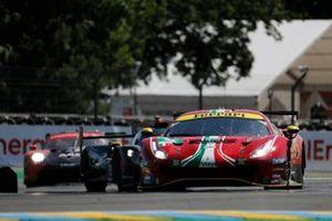 #52 AF Corse Ferrari 488 GTE EVO LMGTE Pro, Daniel Serra, Miguel Molina, Davide Rigon