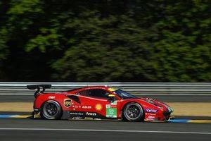 #52 AF Corse Ferrari 488 GTE EVO LMGTE Pro of Daniel Serra, Miguel Molina