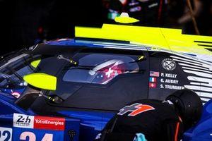 #24 PR1 Motorsports Mathiasen Oreca 07 - Gibson LMP2 van Patrick Kelly, Gabriel Aubry, Simon Trummer