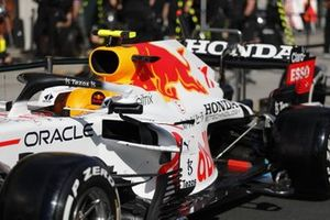 Red Bull Racing RB16B with new white livery