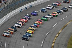 Double-File-Racing auf dem Talladega Superspeedway