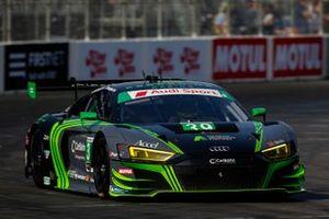 #39: CarBahn with Peregrine Racing Audi R8 LMS GT3, GTD: Richard Heistand, Jeff Westphal