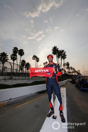 Pole sitter #31 Whelen Engineering Racing Cadillac DPi, DPi: Felipe Nasr