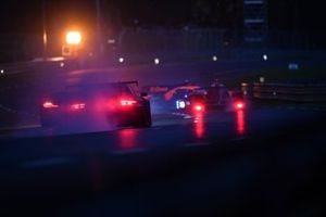 #26 G-Drive Racing Aurus 01 - Gibson LMP2, Roman Rusinov, Franco Colapinto, Nyck De Vries, crash