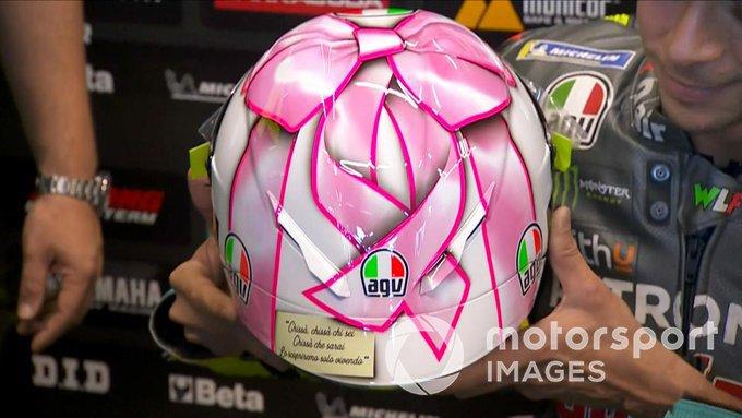 Valentino Rossi, casco Misano