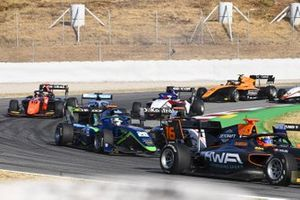 Jack Doohan, Hwa Racelab, Cameron Das, Carlin Buzz Racing And Lukas Dunner, MP Motorsport