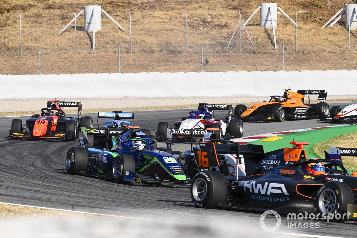 Jack Doohan, Hwa Racelab, Cameron Das, Carlin Buzz Racing, Lukas Dunner, MP Motorsport