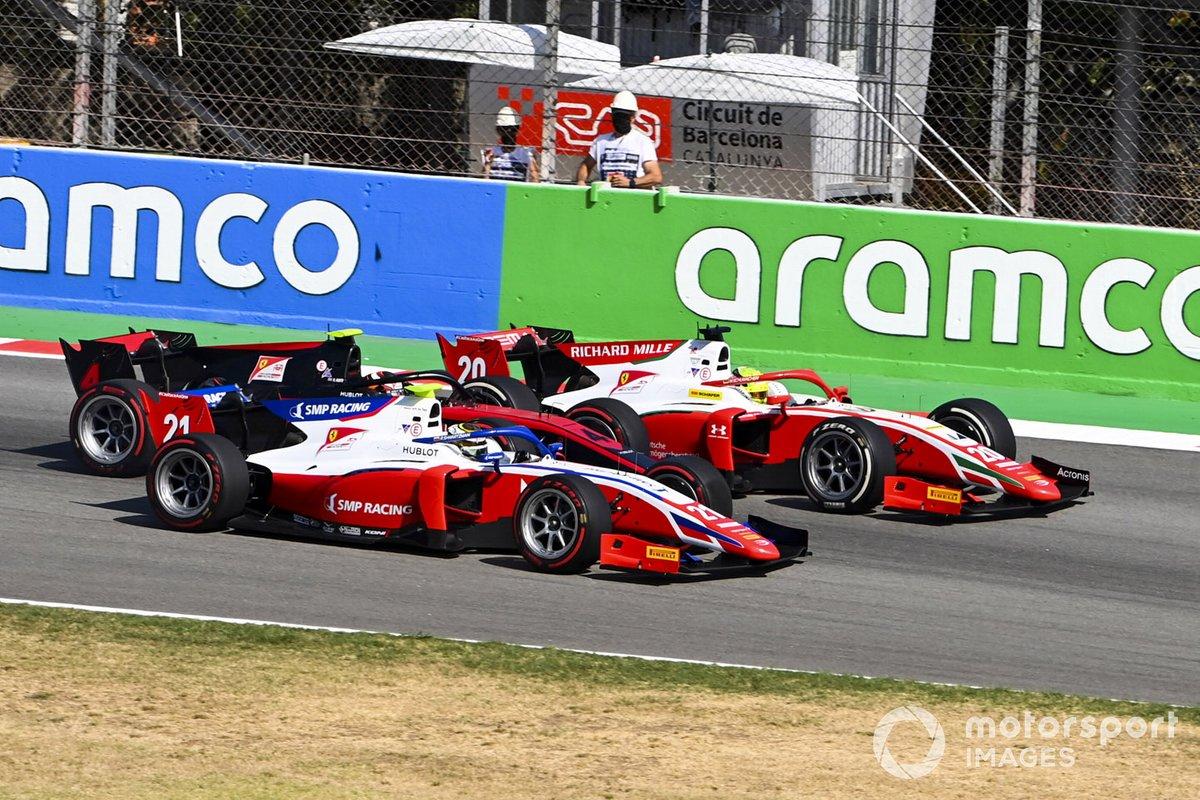 Robert Shwartzman, Prema Racing, Mick Schumacher, Prema Racing, Callum Ilott, UNI-VIRTUOSI