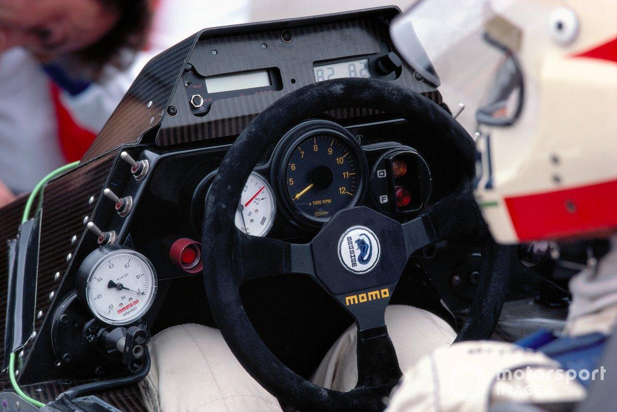 Руль Brabham BT53 на Гран При Великобритании 1984 года